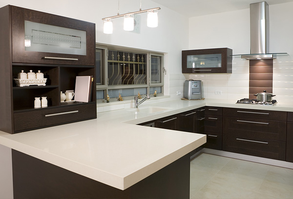 Quartz countertops example